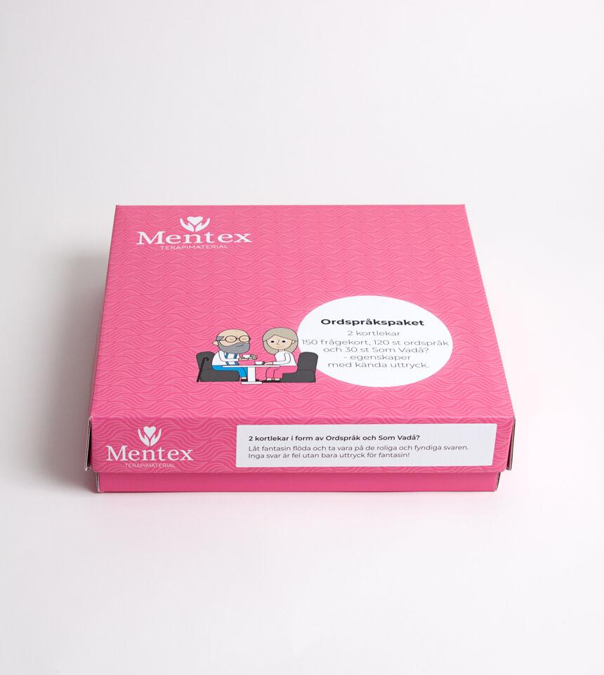 Ordspråkspaketet Mentex terapimaterial