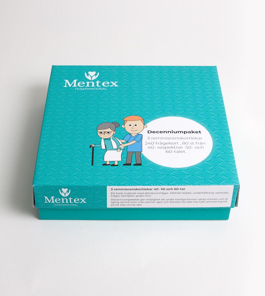 Decenniumpaketet Mentex terapimaterial