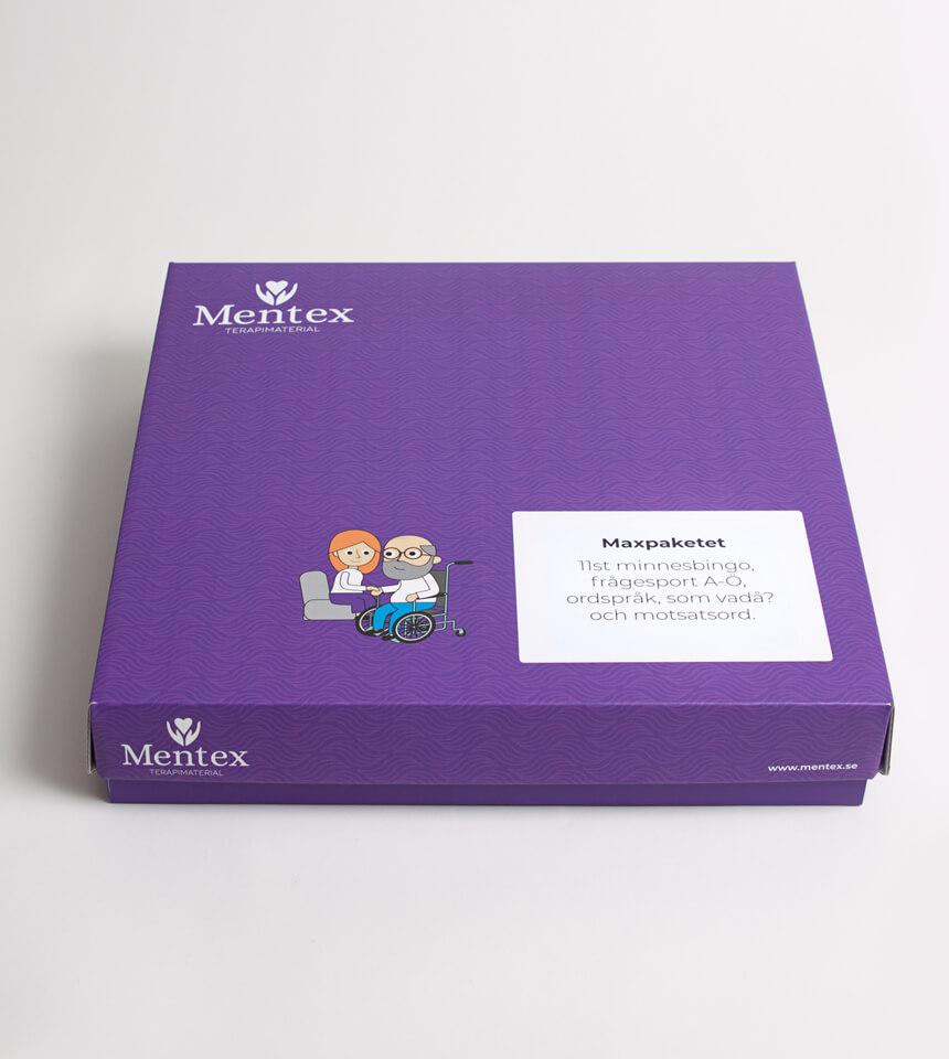 Maxpaketet Mentex Terapimaterial