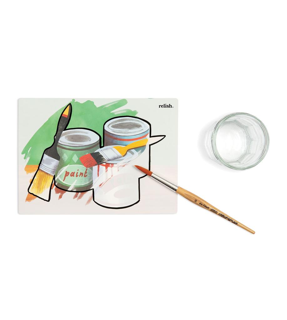Måla med vatten vattenmålning Renovering hemma 2