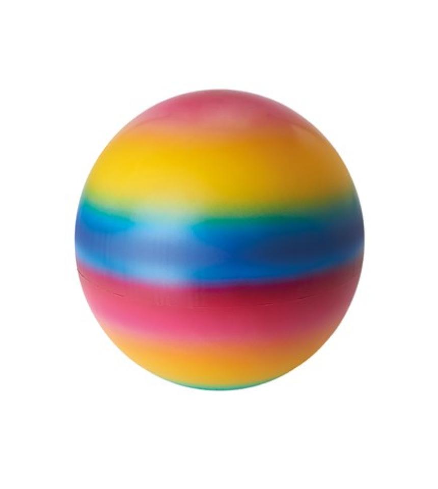 lekboll regnbågens färger