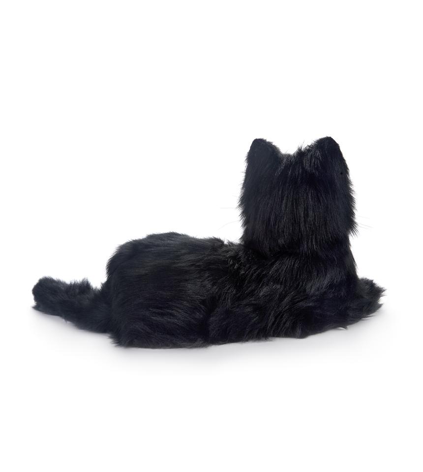 terapikatt svartvit robot katt Mentex 2