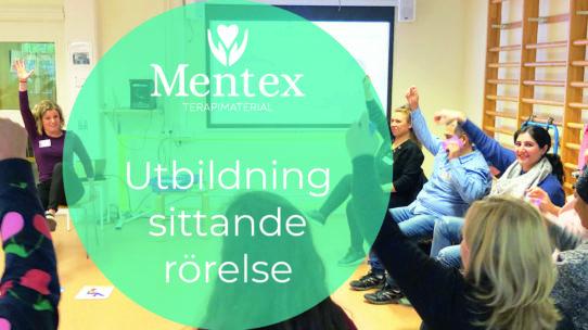 mentex utbildning Workshop sittande rörelse