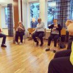 Rörelsepaketet sittande minnesrörelser Mentex Blomstervägen dv