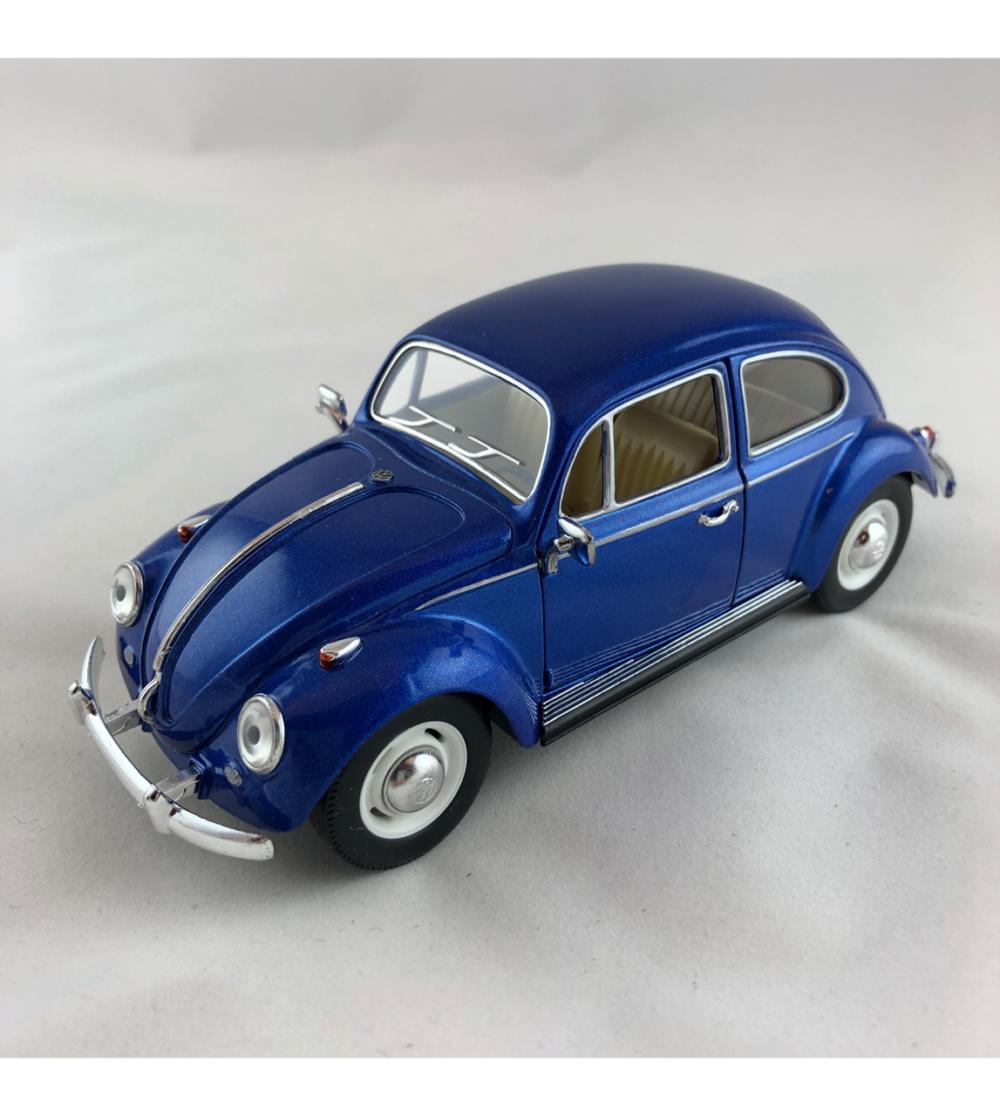VW - folkvagn bubbla blå