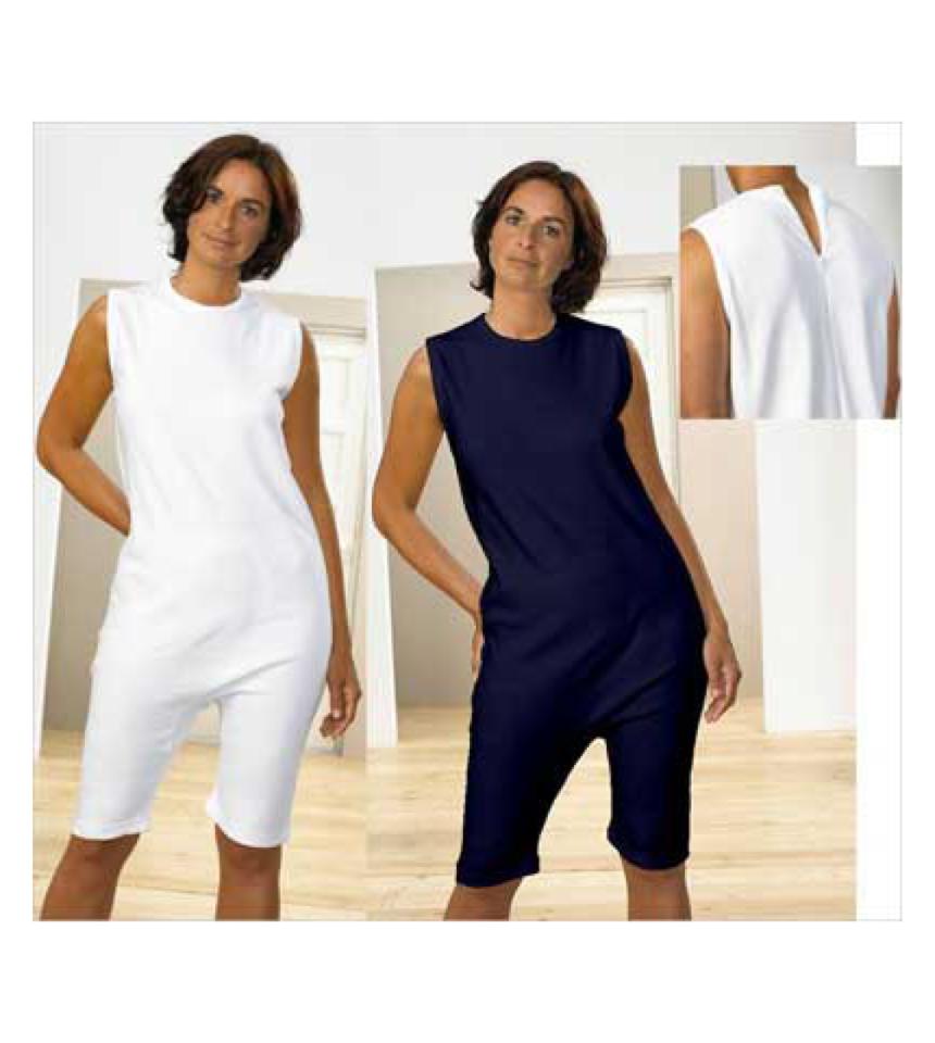 overall med korta ben dragkedja i rygg demens kläder äldre