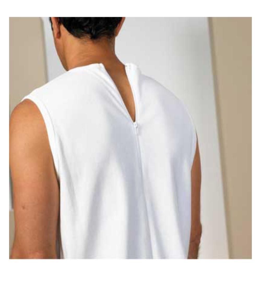 overall med långa ben dragkedja i rygg demens kläder äldre
