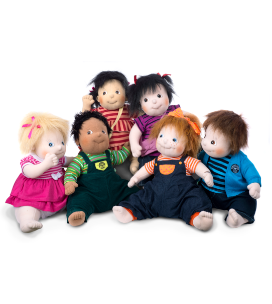 Grupp rubens barn terapidocka demensdocka