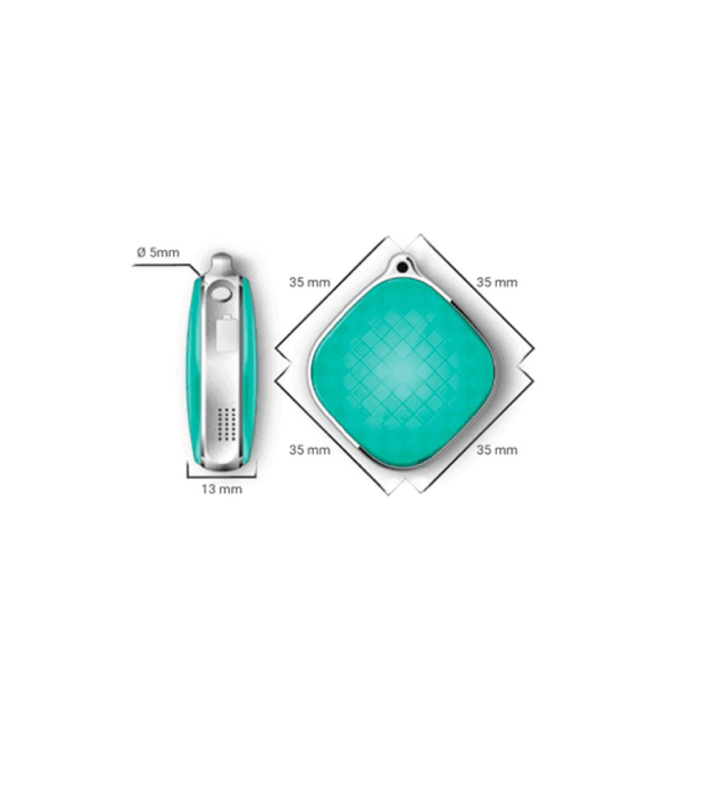 Gps Dosa Nyckelring Smycke med larmfunktion 2