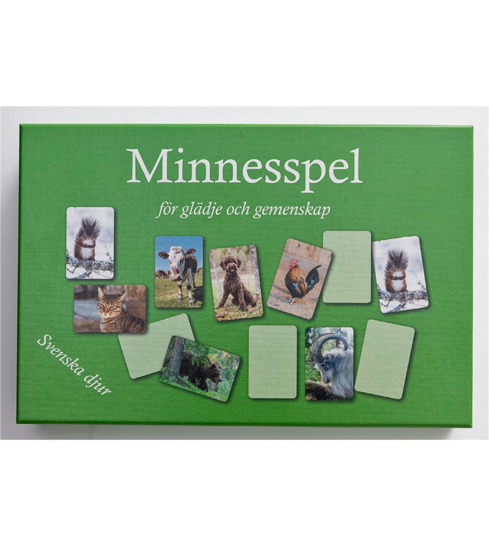minnesspel svenska djur