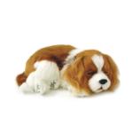 Digital terapihund sovande King Charles 2
