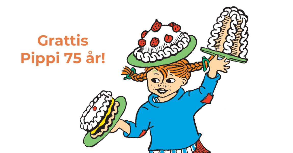 Pippi 75 år gratis aktiviteter för äldre