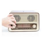 Enkel radio för äldre enknappsradio