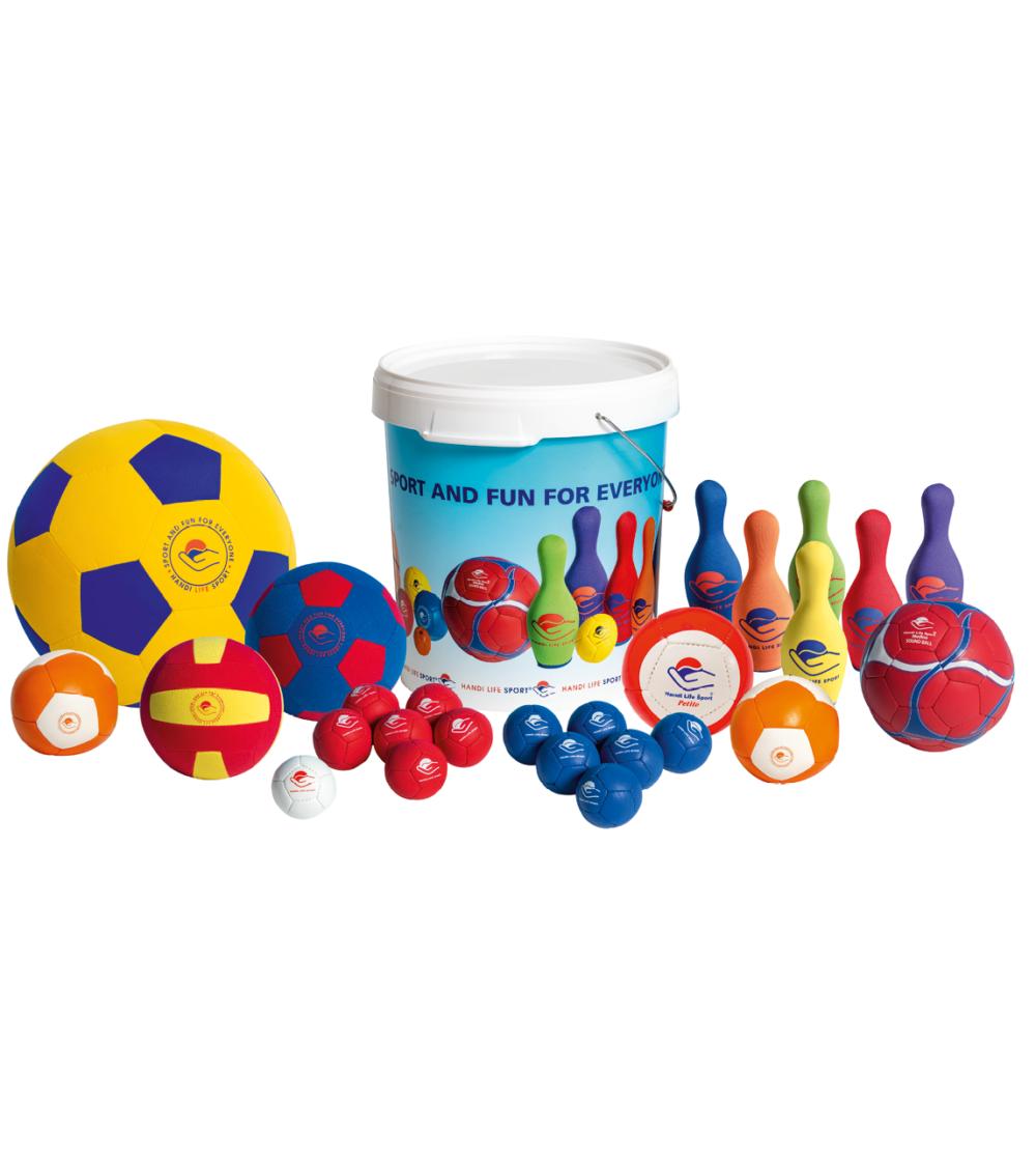 Aktivitetsset boccia bowling bollar äldre vårdhem